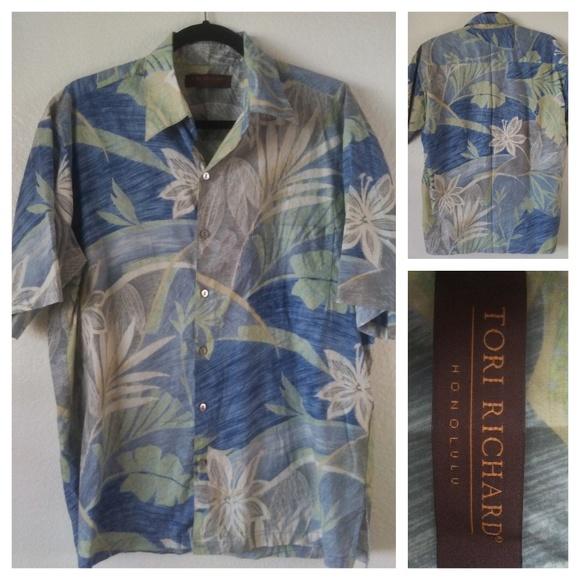 2c0d397d2 Tori Richard Shirts | Lawn Honolulu Aloha Hawaiian Shirt M | Poshmark